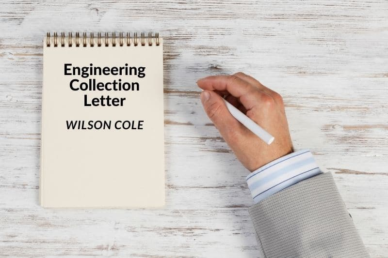 Engineering Collection Letter
